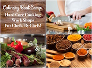 Culinary Boot Camp: Sauces II